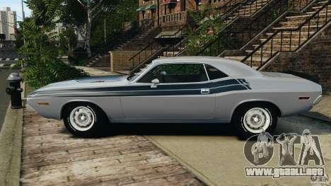 Dodge Challenger RT 1970 v2.0 para GTA 4 left