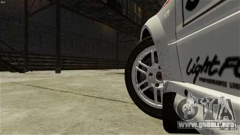 Mitsubishi Lancer Evolution IX RallyCross para GTA 4 vista hacia atrás