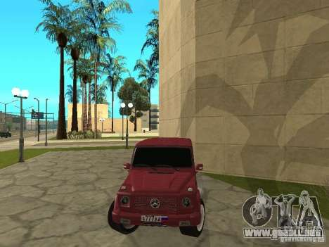 Mercedes-Benz G500 1999 miembro para la visión correcta GTA San Andreas