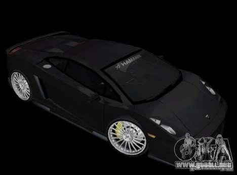 Lamborghini Gallardo Hamann Tuning para GTA Vice City left