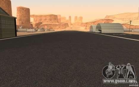 New Verdant Meadows Airstrip para GTA San Andreas segunda pantalla