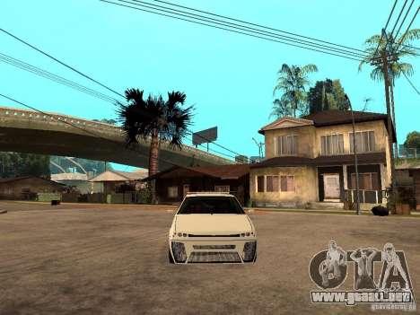 VAZ 2108 Devil V.2 para la visión correcta GTA San Andreas