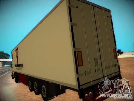 Remolque frigorífico para visión interna GTA San Andreas