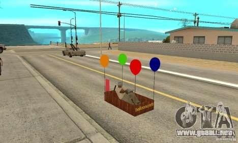 Ballooncraft para visión interna GTA San Andreas