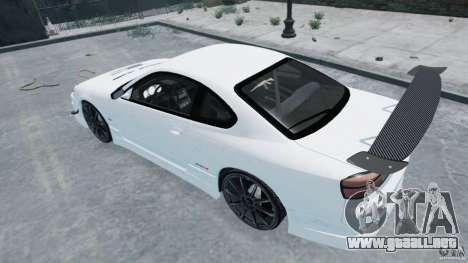 Nissan Silvia S15 para GTA 4 left