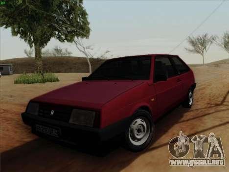 VAZ 21083i para GTA San Andreas left