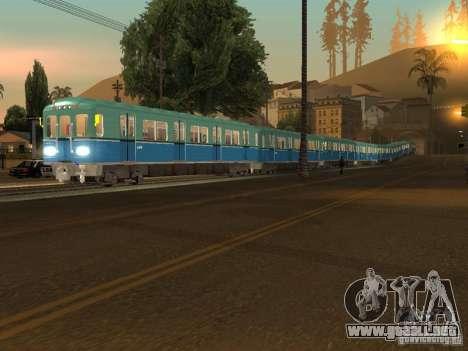 Metro e para GTA San Andreas left
