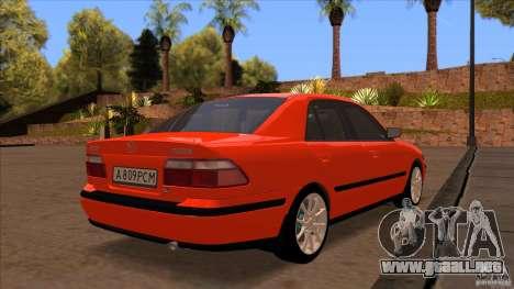 Mazda 626 Stock para vista lateral GTA San Andreas