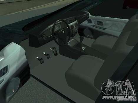 Renault Megane I para GTA San Andreas vista posterior izquierda