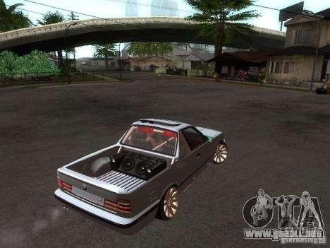 BMW E34 Pickup para la visión correcta GTA San Andreas