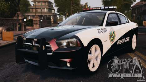 Dodge Charger RT Max Police 2011 [ELS] para GTA 4