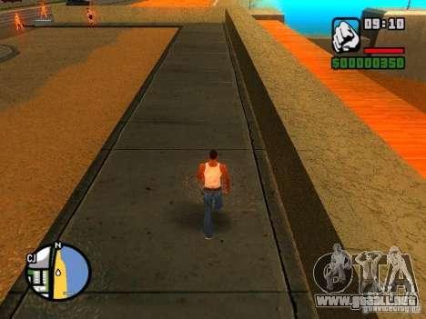 Texturas de East Beach para GTA San Andreas segunda pantalla
