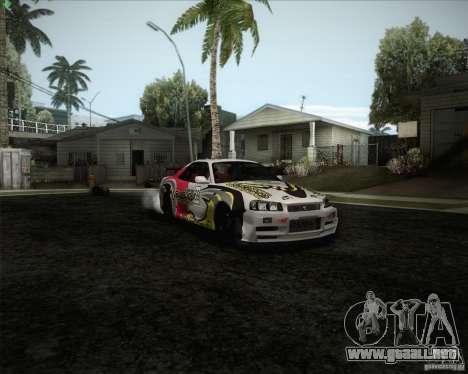 Nissan Skyline Z-Tune v2.0 para el motor de GTA San Andreas