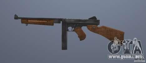 M1 Thompson para GTA San Andreas tercera pantalla