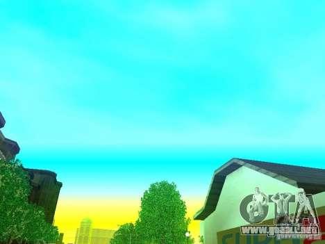 Nuevo Color Mod para GTA San Andreas novena de pantalla