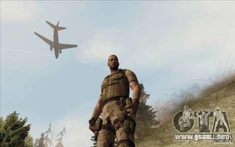 Sam Fisher Army SCDA para GTA San Andreas