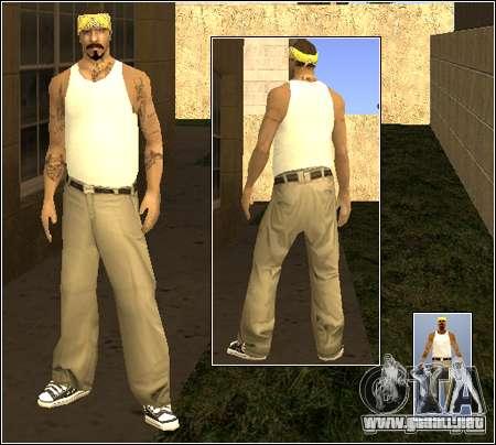 Piel Pack Getto para GTA San Andreas sexta pantalla