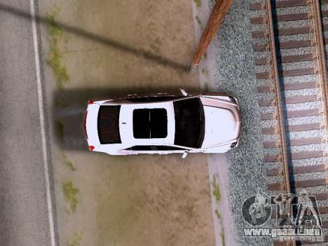 Cadillac CTS-V 2009 para vista lateral GTA San Andreas