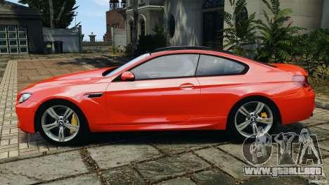 BMW M6 F13 2013 v1.0 para GTA 4 left