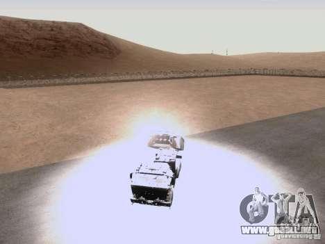 M142 HIMARS Artillery para visión interna GTA San Andreas