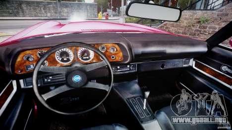 Chevrolet Camaro Z28 para GTA 4 vista hacia atrás