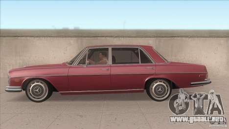 Mercedes-Benz 300 SEL para GTA San Andreas left