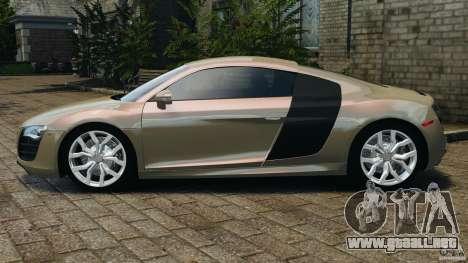 Audi R8 V10 2010 para GTA 4 left
