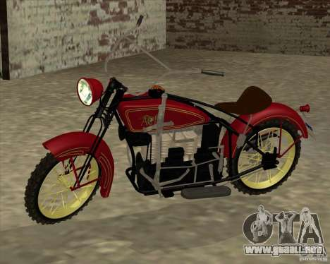 1923 ACE 1200cc para GTA San Andreas left