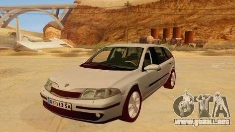 Renault Laguna II para GTA San Andreas left