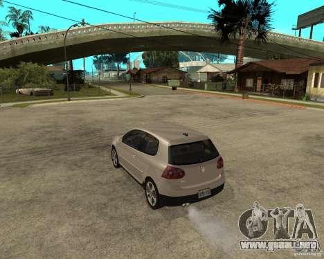 Volkswagen Golf V GTI para GTA San Andreas left