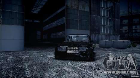 VAZ 2105 Drift para GTA 4 vista hacia atrás