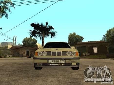 BMW 520i para la visión correcta GTA San Andreas