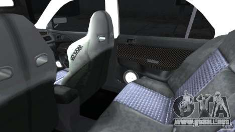 Mitsubishi Lancer Evolution VIII v1.0 para GTA 4 vista interior