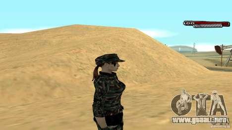 Soldado HD para GTA San Andreas tercera pantalla