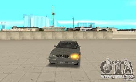 Luces de esquina universal para GTA San Andreas segunda pantalla