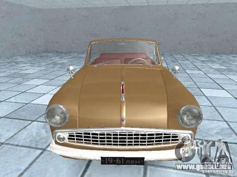 Moskvich 403 Cabrio para la visión correcta GTA San Andreas