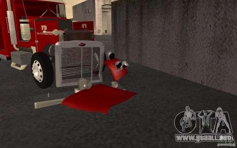 Peterbilt 379 Fire Truck ver.1.0 para la vista superior GTA San Andreas