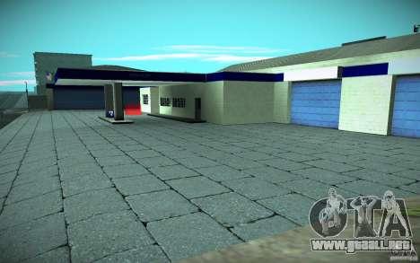 HD Garage in Doherty para GTA San Andreas tercera pantalla