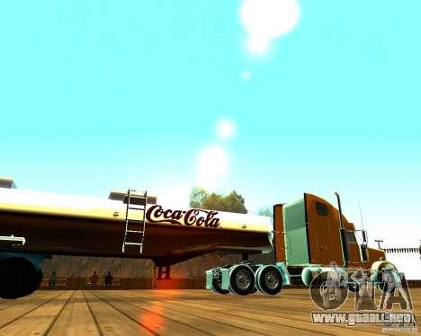 Remolque de Coca Cola para GTA San Andreas left
