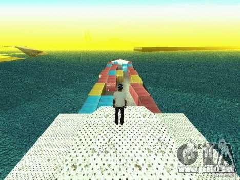 Drivable Cargoship para GTA San Andreas tercera pantalla