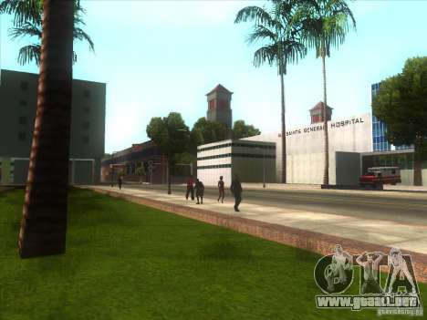 ENBSeries para PC media y débil para GTA San Andreas quinta pantalla