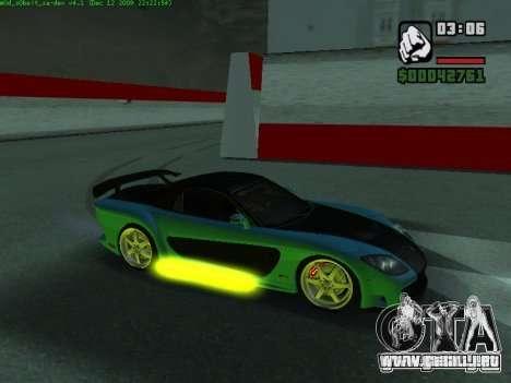 Drift Mod para GTA San Andreas