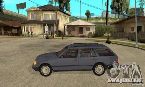 Mercedes-Benz 200TE 1985 para GTA San Andreas left