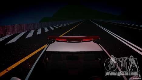 Volkswagen Gol G5 PMSP [ELS] para GTA 4 vista superior