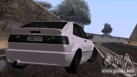 Volkswagen Corrado VR6 para GTA San Andreas vista hacia atrás