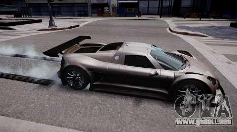 Gumpert Apollo Sport 2011 para GTA 4 left