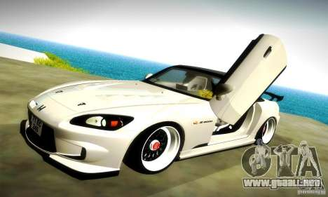 Honda S2000 JDM Tuning para las ruedas de GTA San Andreas