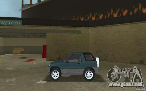 Toyota RAV4 para GTA Vice City left