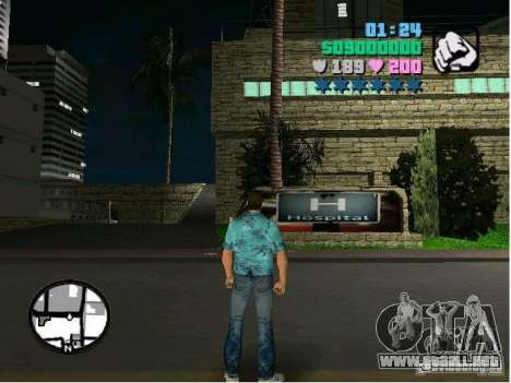 New Hospital para GTA Vice City segunda pantalla