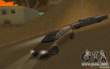 Audi RS6 TT Black Revel para visión interna GTA San Andreas